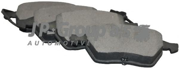 1163602510 Колодки тормозные дисковые передние / AUDI A-4, A-6;SKODA Superb,VW Passat-V(с датчиками) 97~
