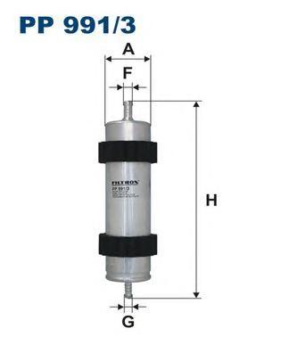 PP9913 Фильтр топливный AUDI A4/A5/A8 2.0D/2.7D/3.0D 09-