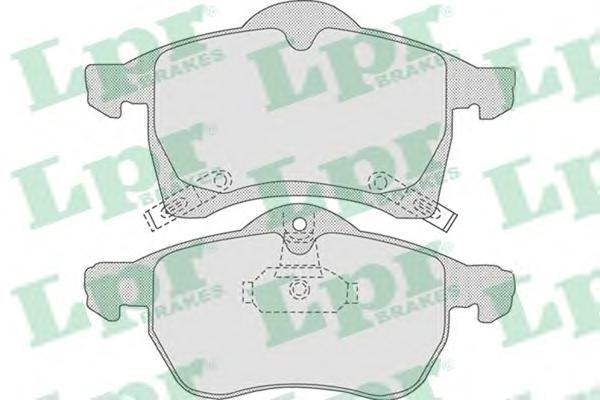 05P690 Колодки тормозные OPEL ASTRA G 1.8-2.2 16v/ZAFIRA A/B 1.6/1.8 передние