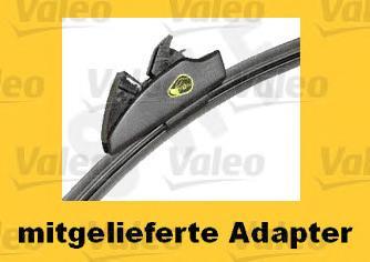 119780 Щётки с/о 650/400мм VISIOFLEX