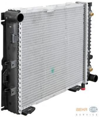 8mk376711331 Радиатор, охлаждение двигател-легковой а