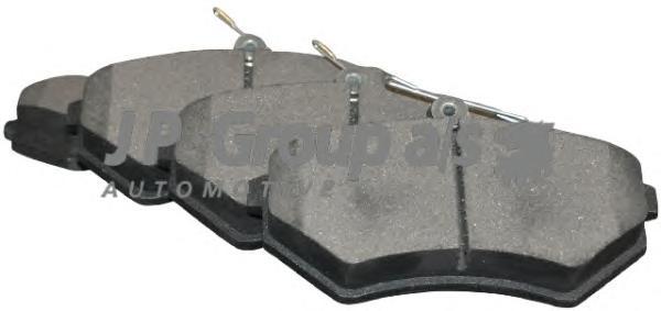 1163602010 Колодки тормозные дисковые передние / AUDI 80,A-4;SEAT,VW 1.6-2.8 88~