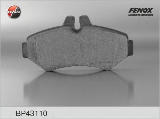 BP43110 Колодки тормозные MERCEDES W463/SPRINTER 97/VOLKSWAGEN LT 9602 задние