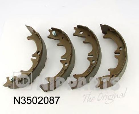 N3502087 Колодки ст.торм.TOYOTA AVENSIS 97-03/CAMRY 91-/LEXUS RX300 00-03