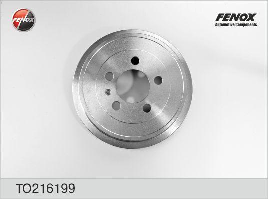 TO216199 Барабан тормозн A2/FABIA 99-