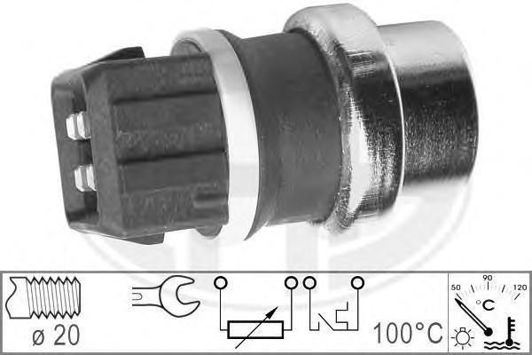 330152 Датчик температуры охлаждающей жидкости FORD: GALAXY (WGR) 2.8 i V6/2.8 i V6 4x4 95-06 VW: CORRADO (53I) 2.9 VR6 87-95, G