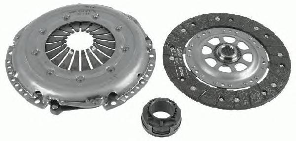 3000844701 Комплект сцепления AUDI: A4 95-00 , A4 Avant 95-01 , A6 97-05 , A6 Avant 97-05  VW: PASSAT 96-00 , PASSAT 00-05 , PAS
