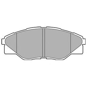 LP2496 Колодки тормозные TOYOTA HILUX 08- передние
