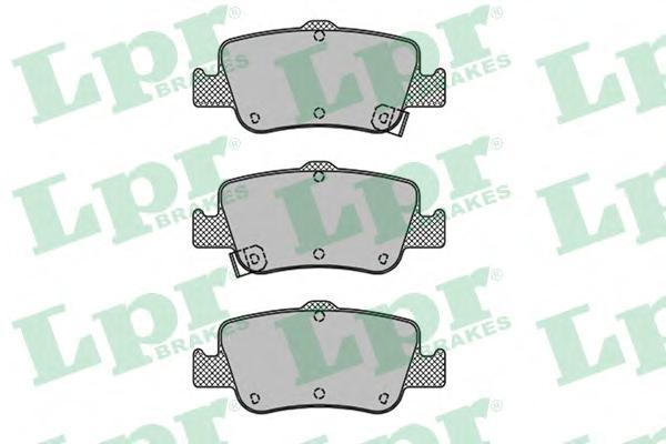 05P1315 Колодки тормозные TOYOTA AURIS 1.33-2.2 07- (Великобритания) задние
