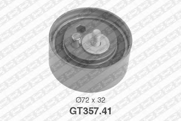 GT35741 Ролик ремня ГРМ AUDI A4/A6/VW PASSAT 2.8/2.4 95-05