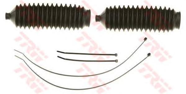 JBE125 Комплект пыльников рулевого управления 2шт FORD: ESCORT IV 85-90, ESCORT V 90-92, ORION III 90-93, SIERRA 82-86