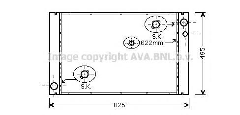 AI2289 Радиатор AUDI A8 3.0-6.0/3.0D-4.0D 02-