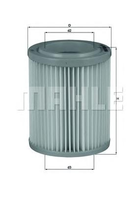 LX1768 Фильтр воздушный HONDA CIVIC/CR-V 2.0 01-06