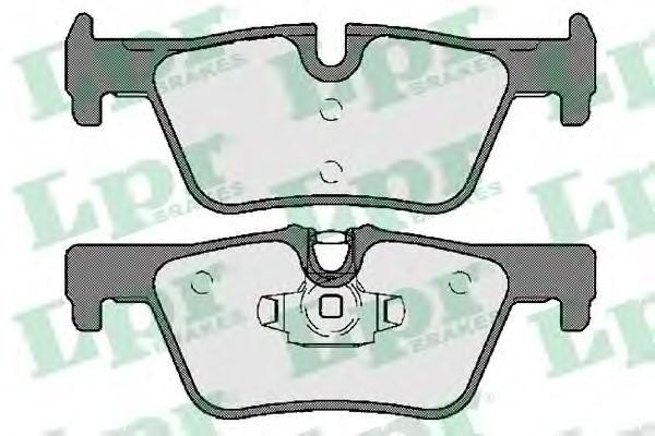 05P1741 Колодки тормозные BMW 1 F20 10-/3 F30 11- задние