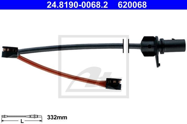 24819000682 Датчик износа тормозных колодок AUDI: Q5 08-