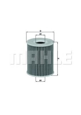 OX422D Фильтр масляный SEAT IBIZA/SKODA ROOMSTER/VW POLO 1.2D