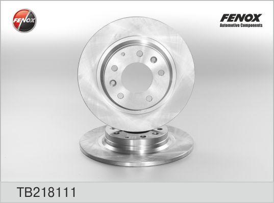 TB218111 Диск тормозной MAZDA 6 07/MX-5 08/MAZDA 323 0104/MAZDA 626 9902 задний