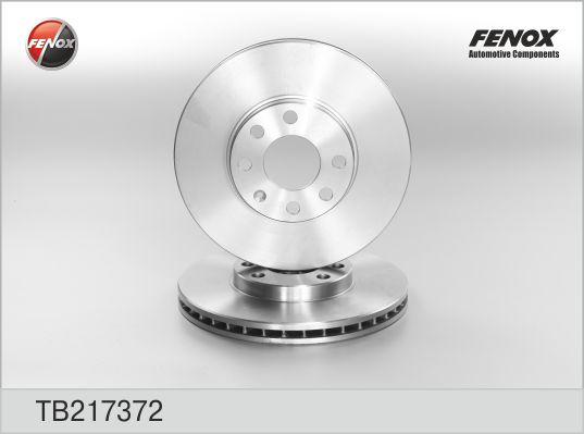 TB217372 Диск тормозной OPEL ASTRA G 1.2-2.0 98-05 передний D=256мм.
