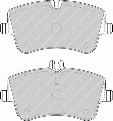 FDB1428 Колодки тормозные MERCEDES W203/209 00- передние