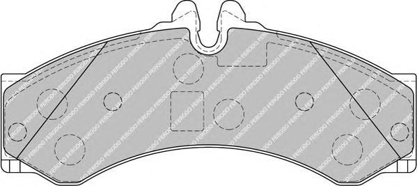 FVR1879 Колодки тормозные MERCEDES SPRINTER (901-904) 95-06/VW LT 28-46 96-06 пер./зад.