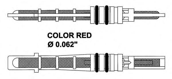 38208 Расширительный клапан, кондиционер
