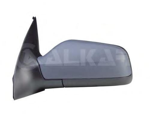 6126437 Зеркало в сборе с электроприводом правое / OPEL Astra G