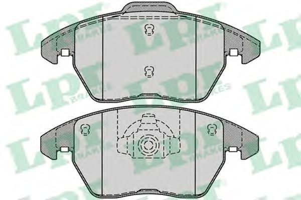 05P1248 Колодки тормозные CITROEN C4/PEUGEOT 207/307/308 1.6-2.0 передние