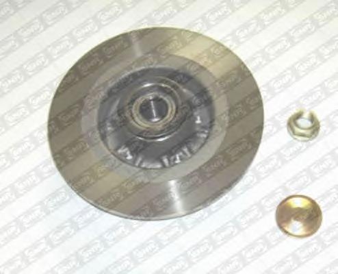 KF15583U Диск тормозной RENAULT ESPACE IV 02- задний с подшипником,с кольцом АБС