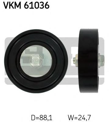 VKM61036 Ролик приводного ремня TOYOTA YARIS 1.0-1.3 16V 99