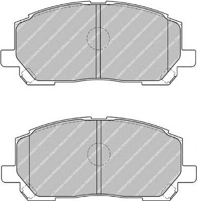 FDB1911 Колодки тормозные LEXUS RX300 00-01 передние
