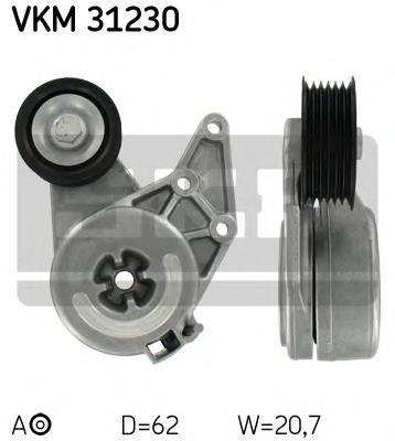 VKM31230 Ролик приводного ремня VW Golf IV 2.3 V5 98