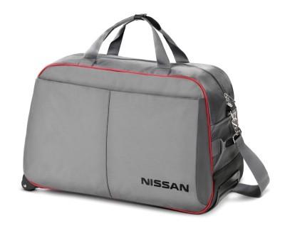 999SK13452 Сумка на колесиках с логотипом Ниссан
