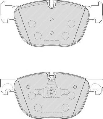 FDB4052 Колодки тормозные BMW X5 E70 07-/X6 E71 08- передние