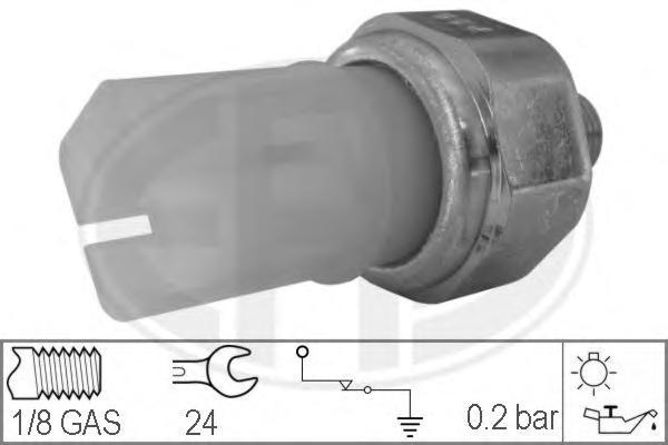 330359 Датчик давления масла NISSAN