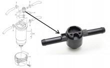 1J0127247B Клапан для дизельного фильтра / SEAT Alhambra, VW Sharan 1.9TDI 01~10