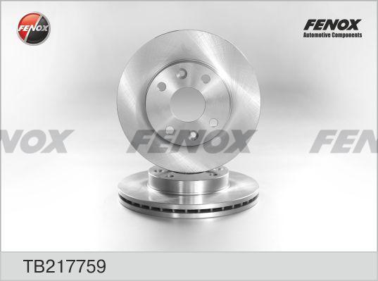 TB217759 Диск тормозной KIA RIO 1.3/1.5 00-05 передний