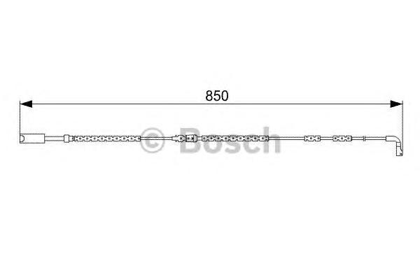 1987473030 Датчик износа торм.колодок BMW E90