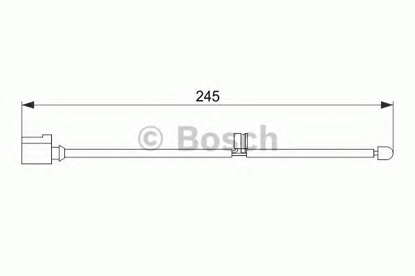 1987474563 Датчик износа торм.колодок VW AUDI Q7/TOUAREG/PORSCHE CAYENNE