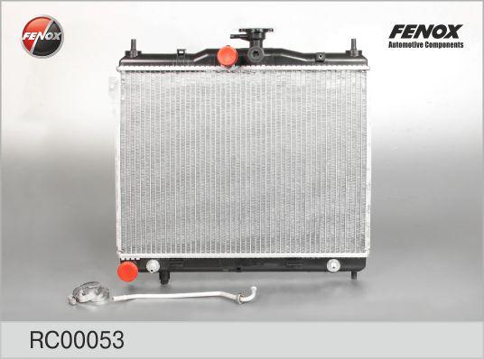 RC00053 Радиатор HYUNDAI GETZ 1.3 03-