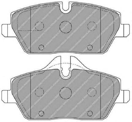 FDB1747 Колодки тормозные BMW E81/E87/MINI COOPER 04- передние