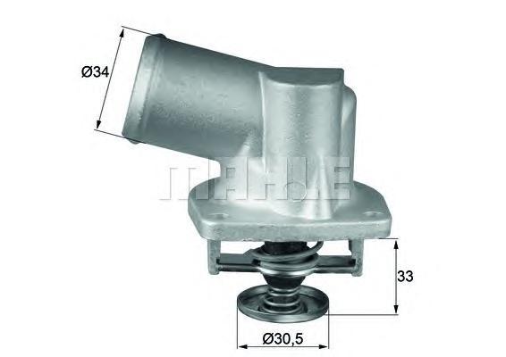 TI13292D Термостат OPEL: ASTRA F 91-98, ASTRA F CLASSIC 98-02, ASTRA F CLASSIC седан 98-02, ASTRA F CLASSIC универсал 98-05, AST