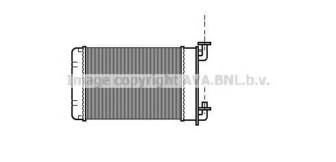 BW6022 Радиатор отопителя BMW: 3 (E30) 315/316/316 (Ecotronic)/316 i/318 i/318 is/320 i/320 is/323 i/324 d/324 td/325 e 2.7/325