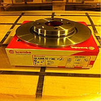 08A26810 Диск тормозной RENAULT LOGAN/SANDERO передний не вент.D=259мм.