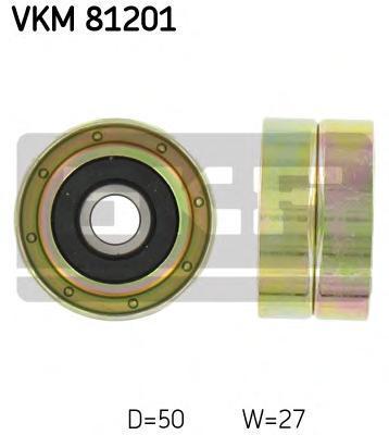VKM81201 Ролик промежуточный ремня ГРМ Toyota Carina E 2.0 94