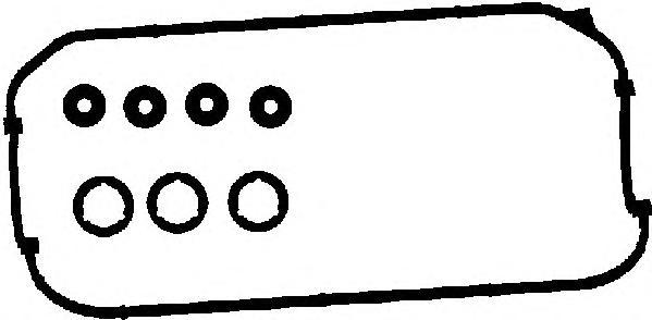 56005400 Прокладки клапанной крышки, комплект