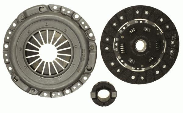 3000111001 Сцепление к-т MB C W201/E W124 1.8-2.0 80-93