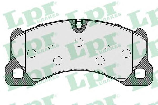 05P1738 Колодки тормозные VW TOUAREG (1LJ) 10- передние