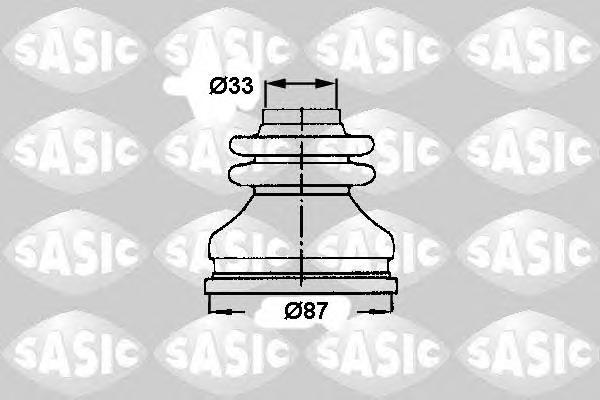 2873783 Пыльник ШРУСа CITROEN JUMPER/FIAT DUCATO 02- внутр.