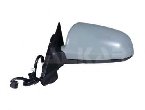 6139500 Зеркало в сборе с электрорегулировкой левое / AUDI A-3 (3-х дверная) 04~08