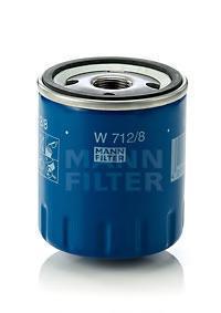 W7128 Фильтр масляный CITROEN/PEUGEOT